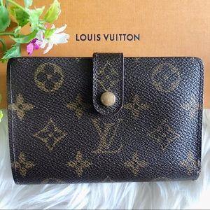 Luis Vuitton - Monogram Kisslock Bifold Wallet